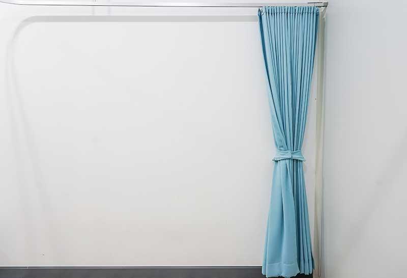 hospital curtain on rail